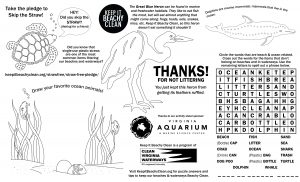 KIBC Kids Activity Sheet with Heron